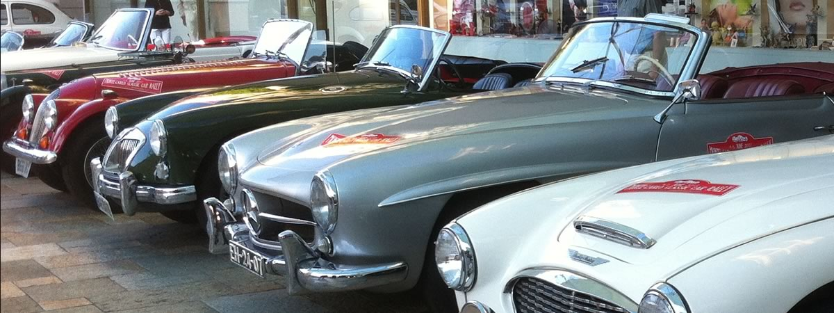 Classic Car Rally to Monaco